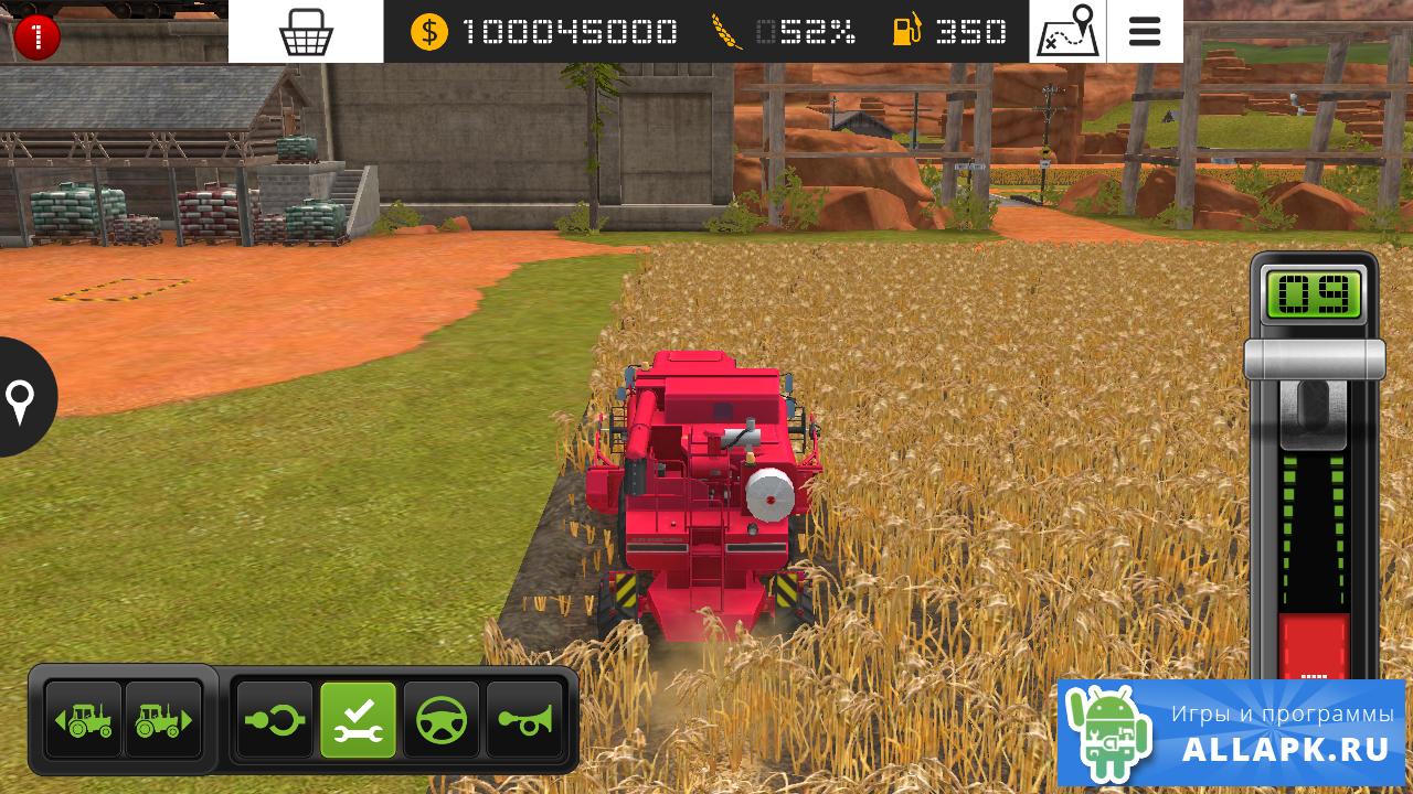 скачать игры на андроид бесплатно farming simulator 2016 много денег