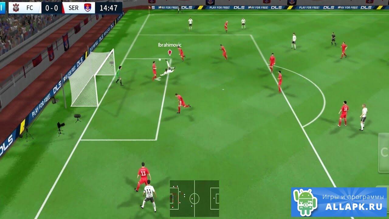 мод на деньги до игры dream league soccer