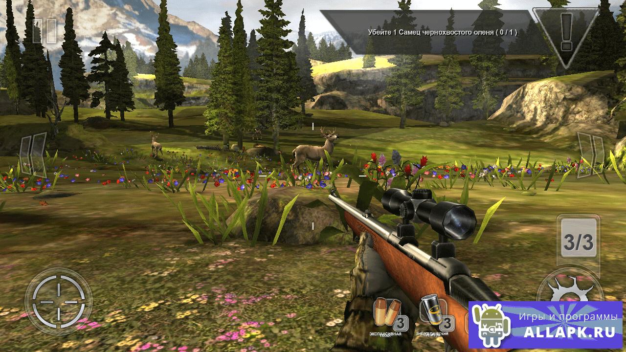 скачать игру для андроид deer hunter много денег
