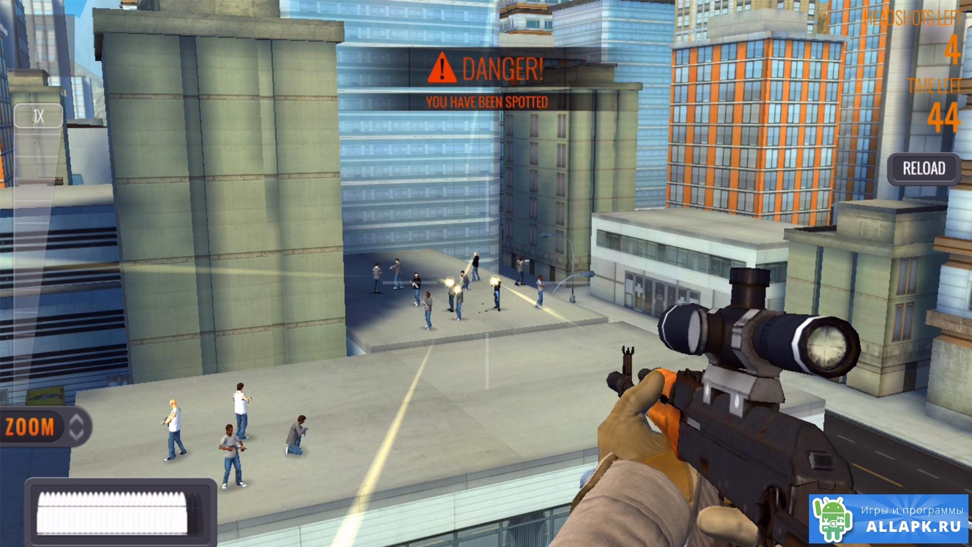 скачать игру sniper на андроид мод много денег