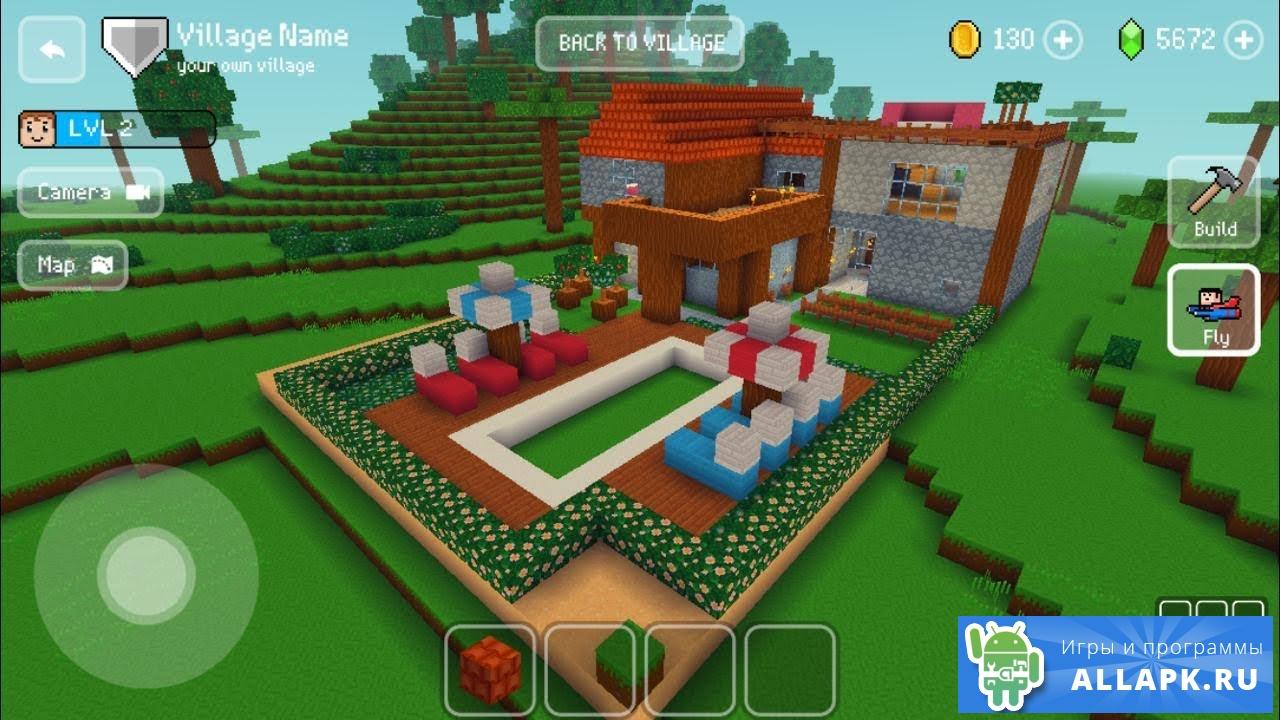 игра block craft 3d скачать мод много денег